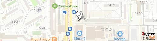 Антикризисный магазин на карте Магнитогорска
