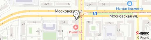 Для Тебя на карте Магнитогорска