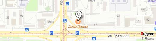 Магазин сувениров на карте Магнитогорска