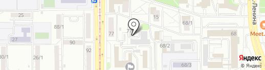 Челябинский государственный университет на карте Магнитогорска