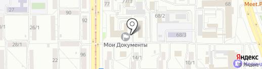 Юридическая фирма на карте Магнитогорска