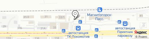 Попути74 на карте Магнитогорска