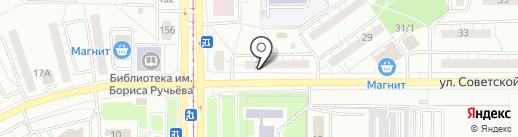 Магнитогорская буровая компания на карте Магнитогорска