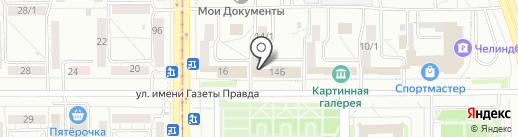 Резерв-ППТК, ЗАО на карте Магнитогорска