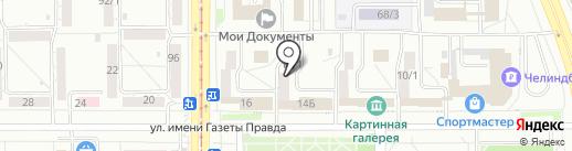 Дом Независимой Оценки Светланы Чувыриной на карте Магнитогорска