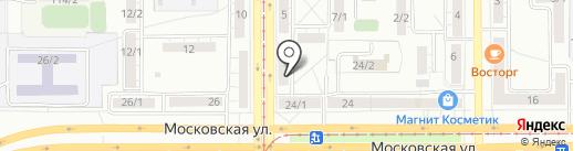 Барбариска на карте Магнитогорска