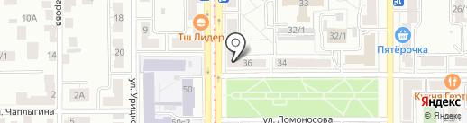 Служба защиты призывников на карте Магнитогорска