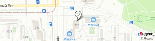 Трест Магнитострой на карте Магнитогорска