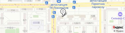 АвтоПрокат 74 на карте Магнитогорска