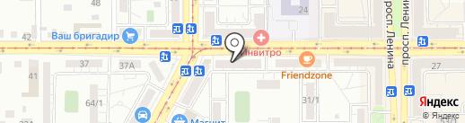 Секонд Хэнд на карте Магнитогорска