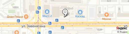 Киоск по продаже кондитерских изделий на карте Магнитогорска