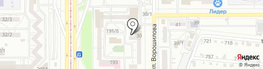 Юридический кабинет на карте Магнитогорска