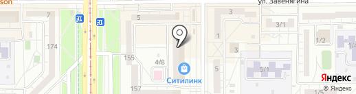 С Текстиль на карте Магнитогорска