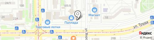 Магазин садово-огородного инвентаря и семян на карте Магнитогорска