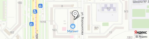 Магазин постоянных распродаж на карте Магнитогорска