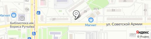 Народная казна, КПК на карте Магнитогорска