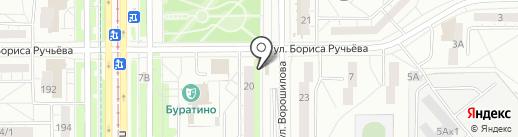 УЧКА на карте Магнитогорска