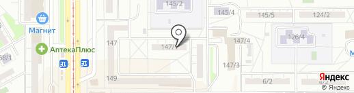 Металлург-19, ТСЖ на карте Магнитогорска