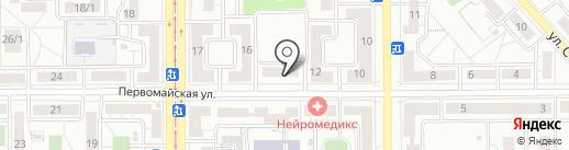 Магазин товаров для художественной гимнастики на карте Магнитогорска