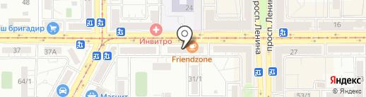 VAG-Line на карте Магнитогорска