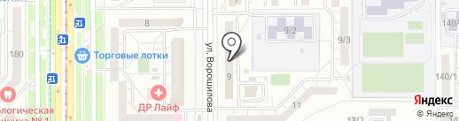 Феникс на карте Магнитогорска