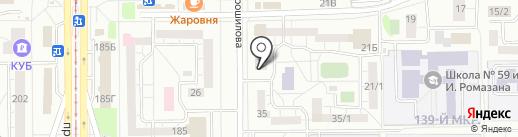1 женский на карте Магнитогорска