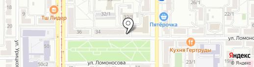 Habibi Place на карте Магнитогорска