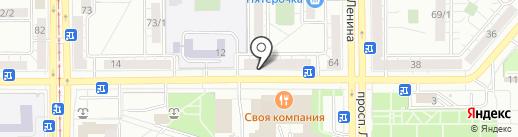 CARVEN-paris на карте Магнитогорска