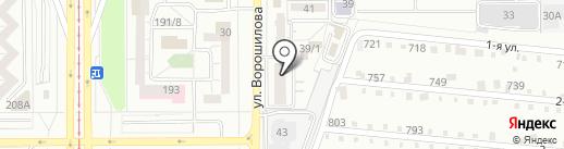 АртПРИНТ на карте Магнитогорска