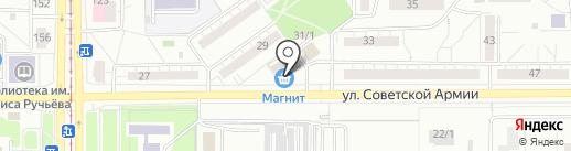 Магазин пива на карте Магнитогорска