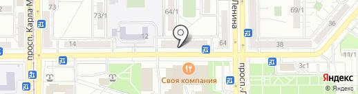 Эстетик Spa на карте Магнитогорска