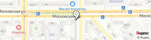 Военный комиссариат г. Магнитогорск Челябинской области на карте Магнитогорска