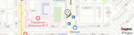 Бюро медико-социальной экспертизы по Челябинской области на карте Магнитогорска