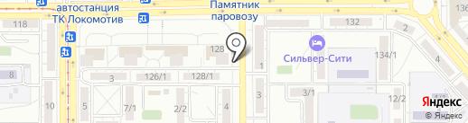 Нефрит на карте Магнитогорска