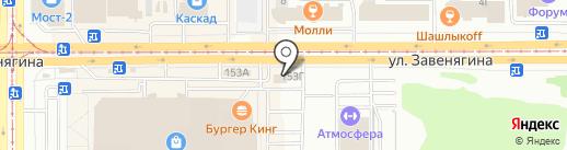 AutoMGN на карте Магнитогорска