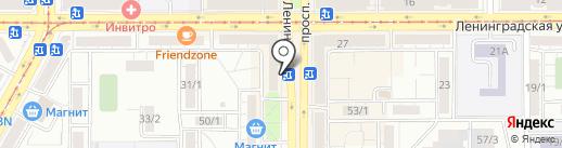 Оптик-Центр на карте Магнитогорска