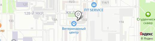 Ладья, ТСЖ на карте Магнитогорска