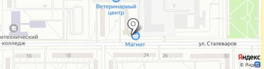 ONLY ME на карте Магнитогорска