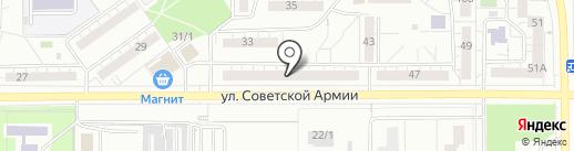 Олори на карте Магнитогорска