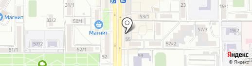 DHL на карте Магнитогорска
