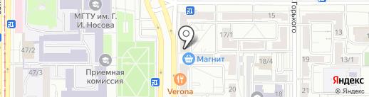 Qiwi на карте Магнитогорска