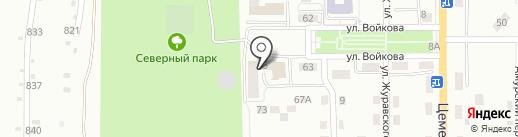 Аптека на карте Магнитогорска