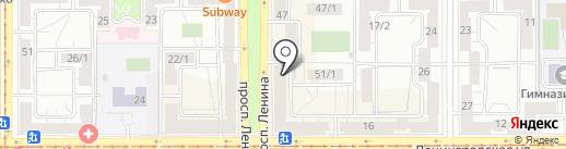 Центр йогатерапии на карте Магнитогорска