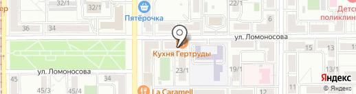Торгово-монтажная компания на карте Магнитогорска