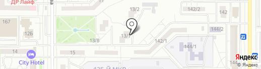 Магнитогорская кадровая служба на карте Магнитогорска