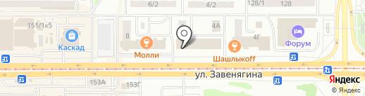 Кузов-Маркет на карте Магнитогорска