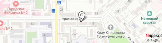 Бюро экспертизы и оценки на карте Магнитогорска