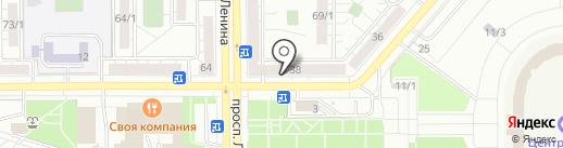 Элит Стекло на карте Магнитогорска