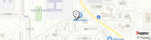 Комитет территориального общественного самоуправления Администрации Правобережного района на карте Магнитогорска