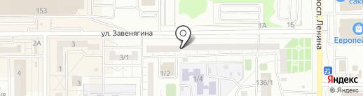 РиелтФ на карте Магнитогорска
